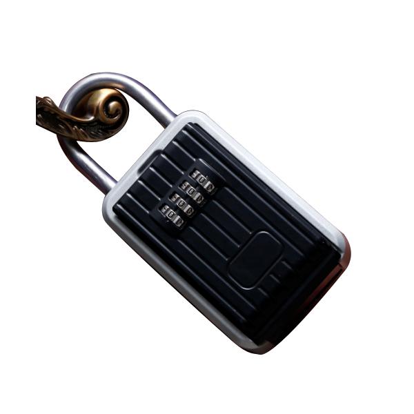 Aluminum alloy New wall-mounted key box-HKS005