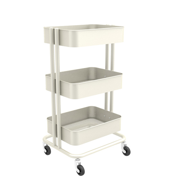 Carbon steel Rolling Storage Cart-HS-005