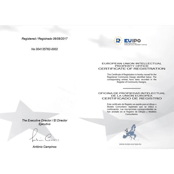 European Patent certificate