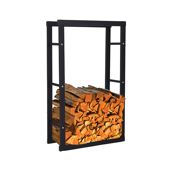 Galvanized pipe Firewood Rack-HFR-1004